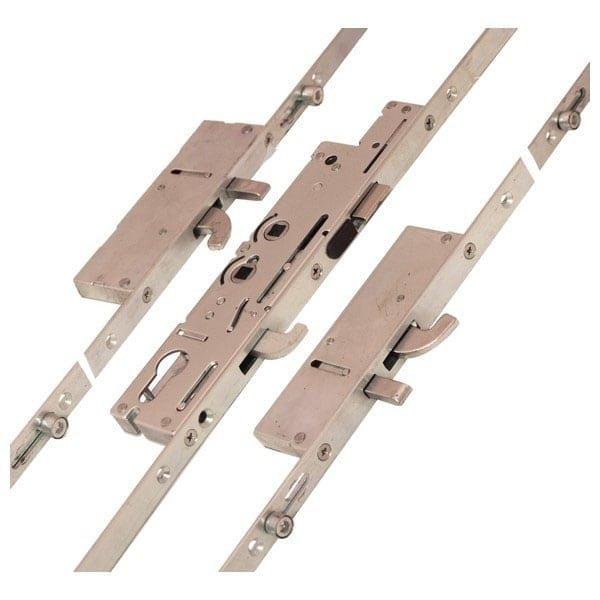 Fullex XL 2 Hook 2 Pin 4 Roller Centre Latch & Hook Type 1