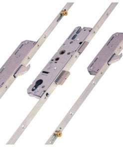 KFV AS4921 2 Hook 2 Roller Centre Latch & Deadbolt