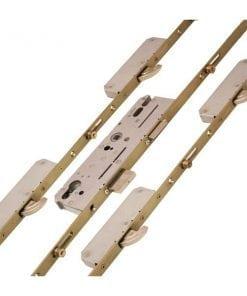 KFV AS6524 4 Hook 4 Roller Centre Latch & Deadbolt