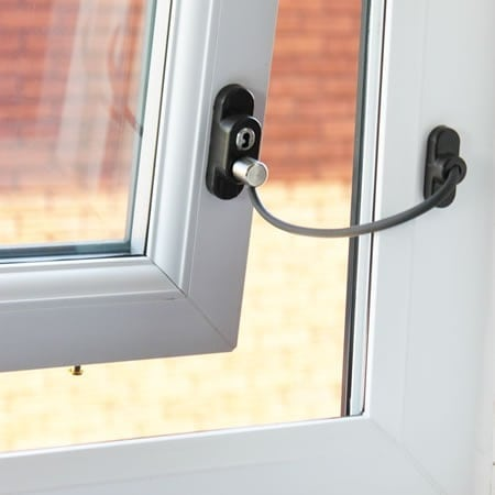 Penkid Window Restrictor Solid As A Lock Hardware