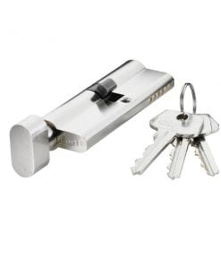 Carl F Open Profile Euro Key & Turn Cylinder