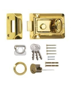 ERA 133 Nightlatch BRASS