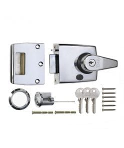 ERA 193 183 Automatic Deadlocking Nightlatch polished chrome