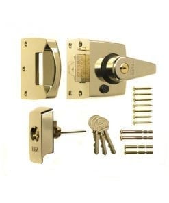 ERA 1930 1830 British Standard Nightlatch brass