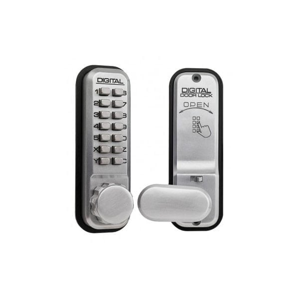 Lockey 2435 Mortice Latch Digital Lock knob