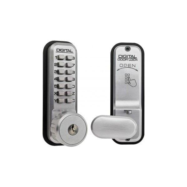 Lockey 2435 Mortice Latch Digital Lock with key override