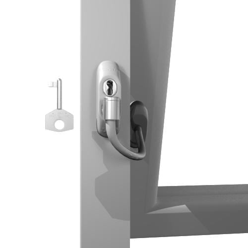 Uap Lockable Window Restrictor Solid As A Lock Hardware