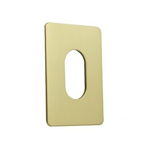 Jumbo Oval Escutcheon Stick On