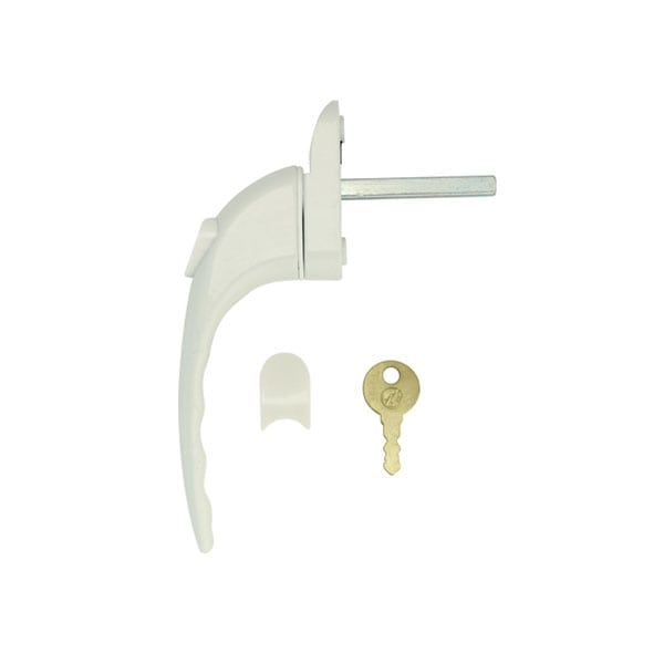 Mila Prolinea Window Handle Solid As A Lock Hardware