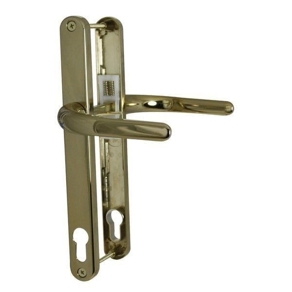 Millenco 117mm Sprung Lever Lever Handle gold