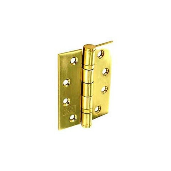Securit Fire Door Hinges Grade 13 brass