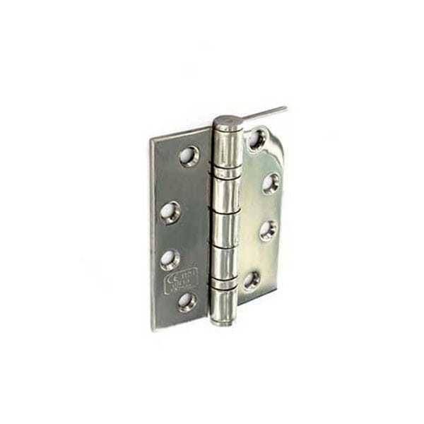 Securit Fire Door Hinges Grade 13 polished