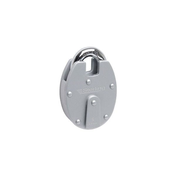 Sterling 63mm Closed Shackle Six Lever Padlock