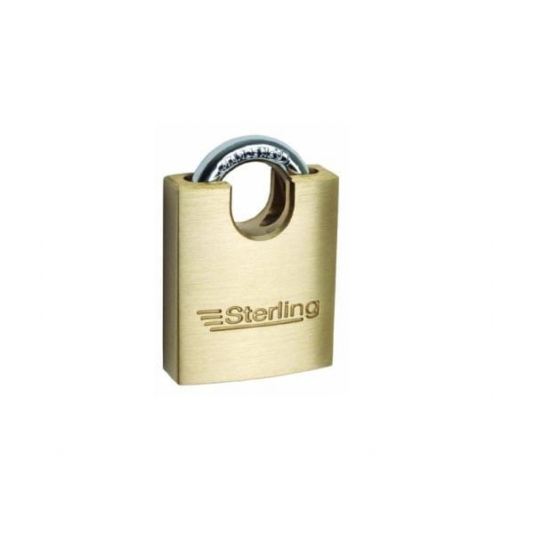 Sterling Brass Closed Shackle Padlock