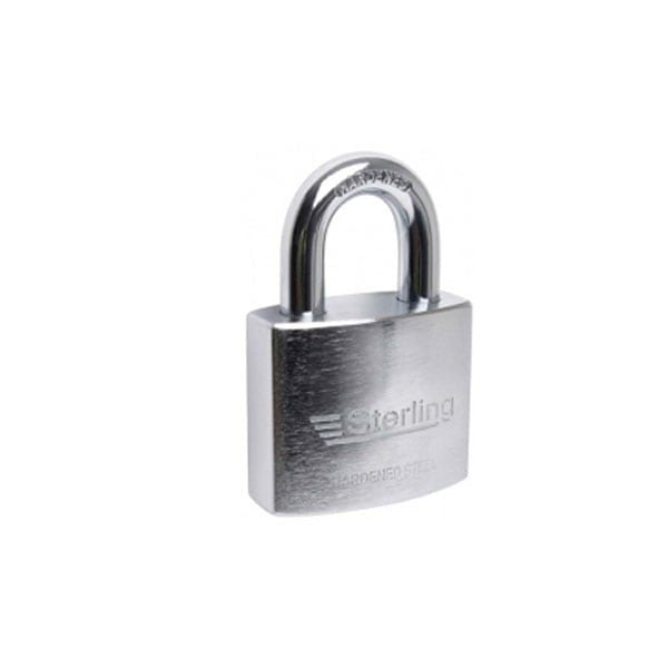 Sterling Hardened Steel Padlock Open Shackle
