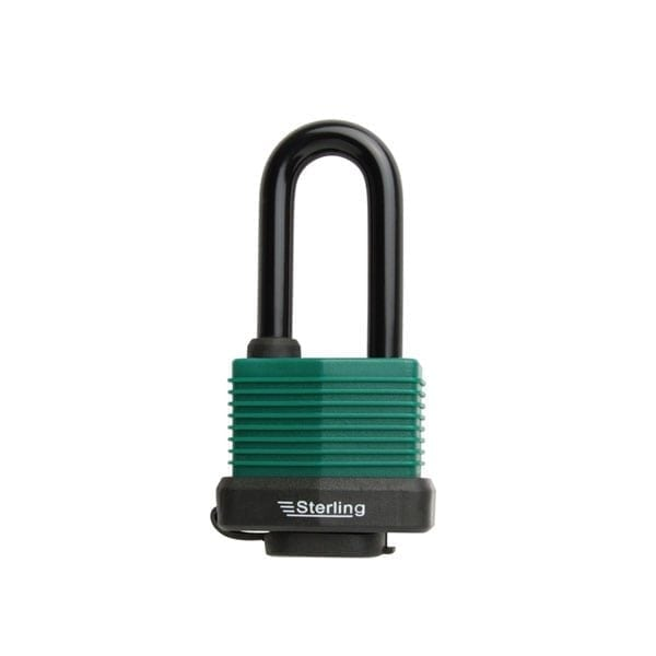 Sterling Weatherproof Padlock Long Shackle