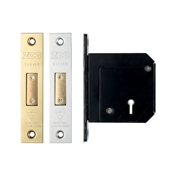 ZOO Hardware 5 Lever Chubb Retro Fit Dead Lock