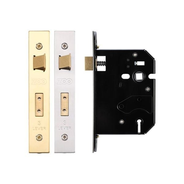 Zoo Hardware 3 Lever 76mm Replacement Sashlock