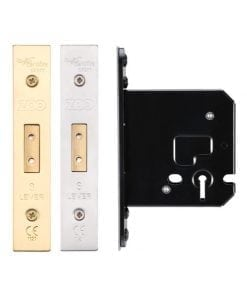 Zoo Hardware 3 Lever Deadlock 76mm