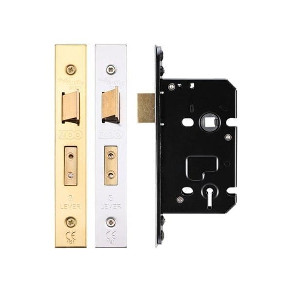Zoo Hardware 3 Lever Sashlock 64mm