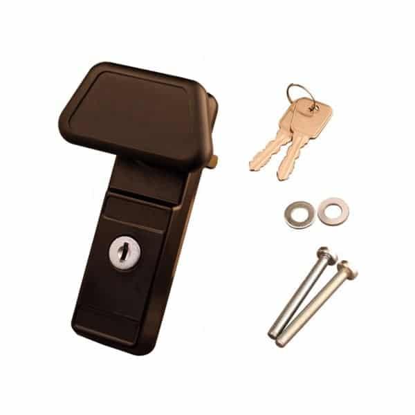 Cardale Garage Door Pad Handle Solid As A Lock Hardware