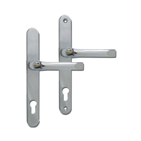 Roto 92mm Lever Lever Door Handle chrome