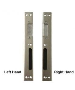 Universal Handed Centre Latch & Deadbolt Striker