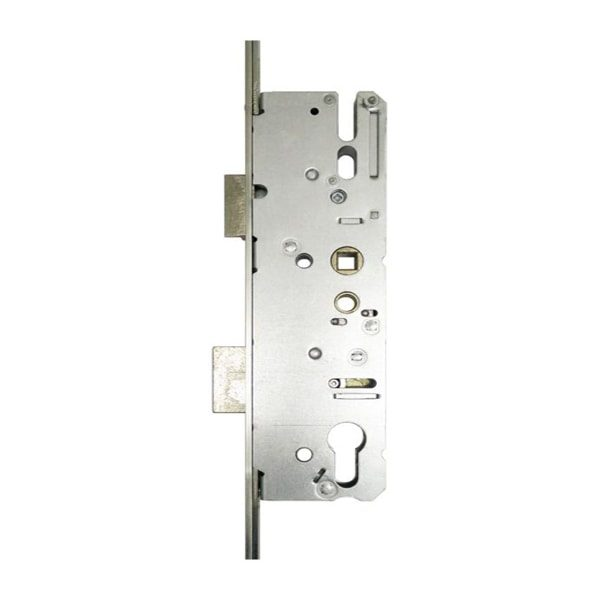 KFV AS4900 2 Hook Centre Latch & Deadbolt MPL Strip Lock Centre: 92mm Backset: 35mm or 55mm Face Plate Width: 16mm Operation: Lever Lever Spindle: 1 Case Height: 210mm Case Width: 52mm / 72mm Shootbolt Compatible: No