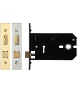 Zoo Hardware 3 Lever Horizontal Sashlock 127mm