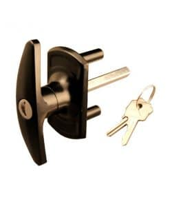 Cardale T Locking Garage Door Handle