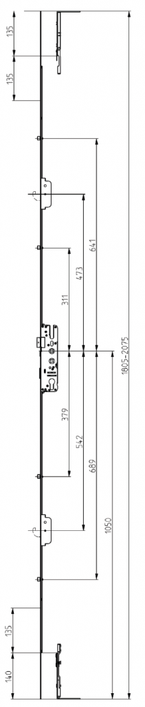 Elite-Compact-Lock-2-Hook-4-Roller-Dimensions