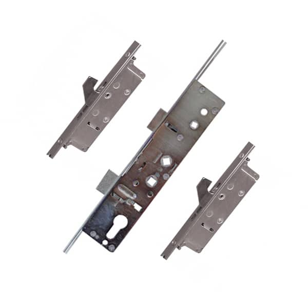Lockmaster PL18 2 Hook Latch and Deadbolt Door Lock