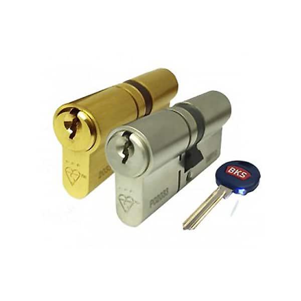 GU BKS Secury 3 Star Double Euro Cylinder